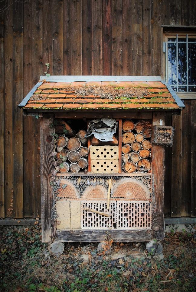 Insektenhotel - Copyright A. Hakala